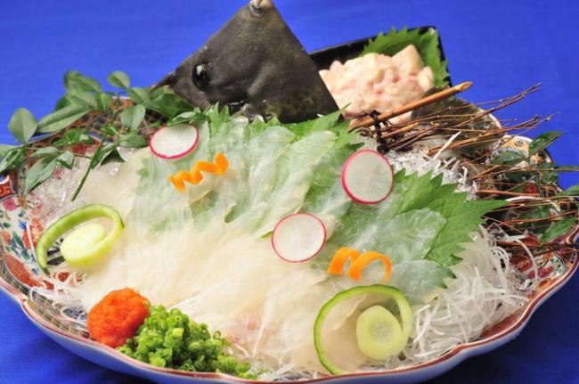 名物いけす料理!!