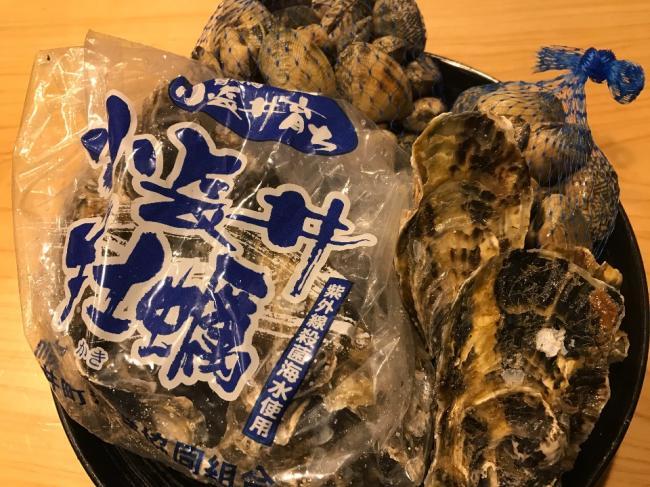 牡蠣・アサリ祭り??